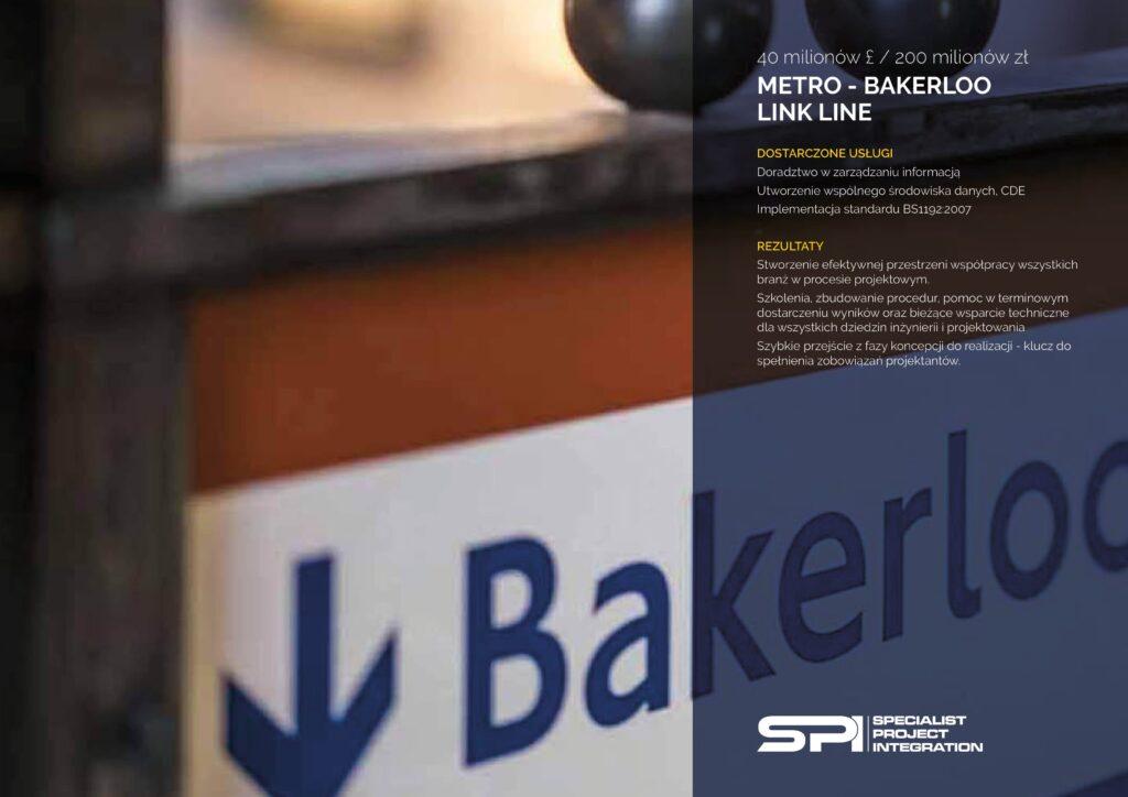 METRO - BAKERLOO LINK LINE
